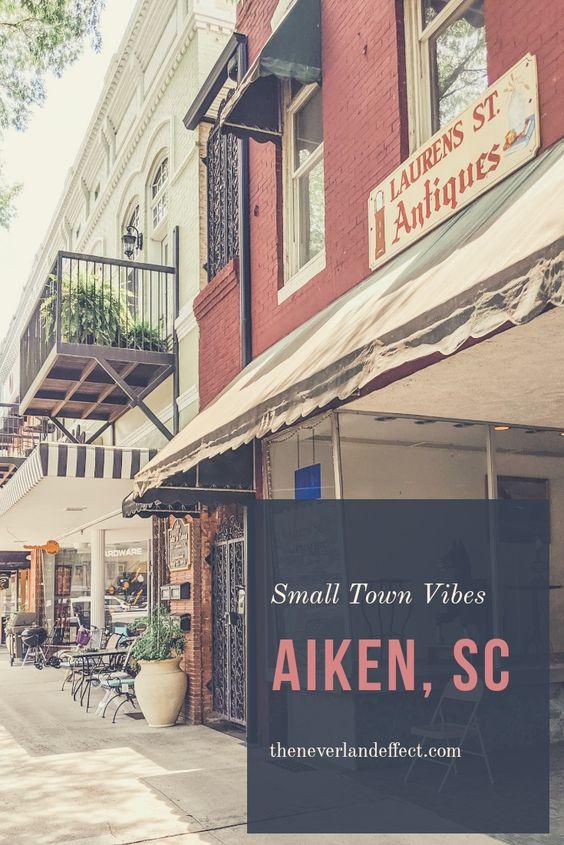 Pinterest Image Downtown Aiken