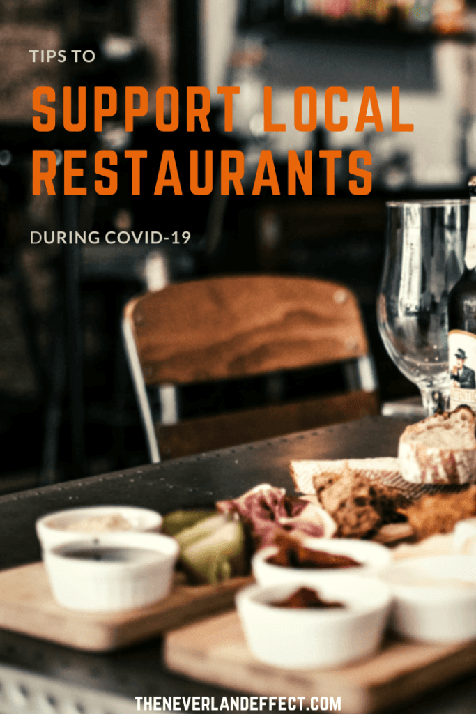 Pinterest Image Save the Restaurants